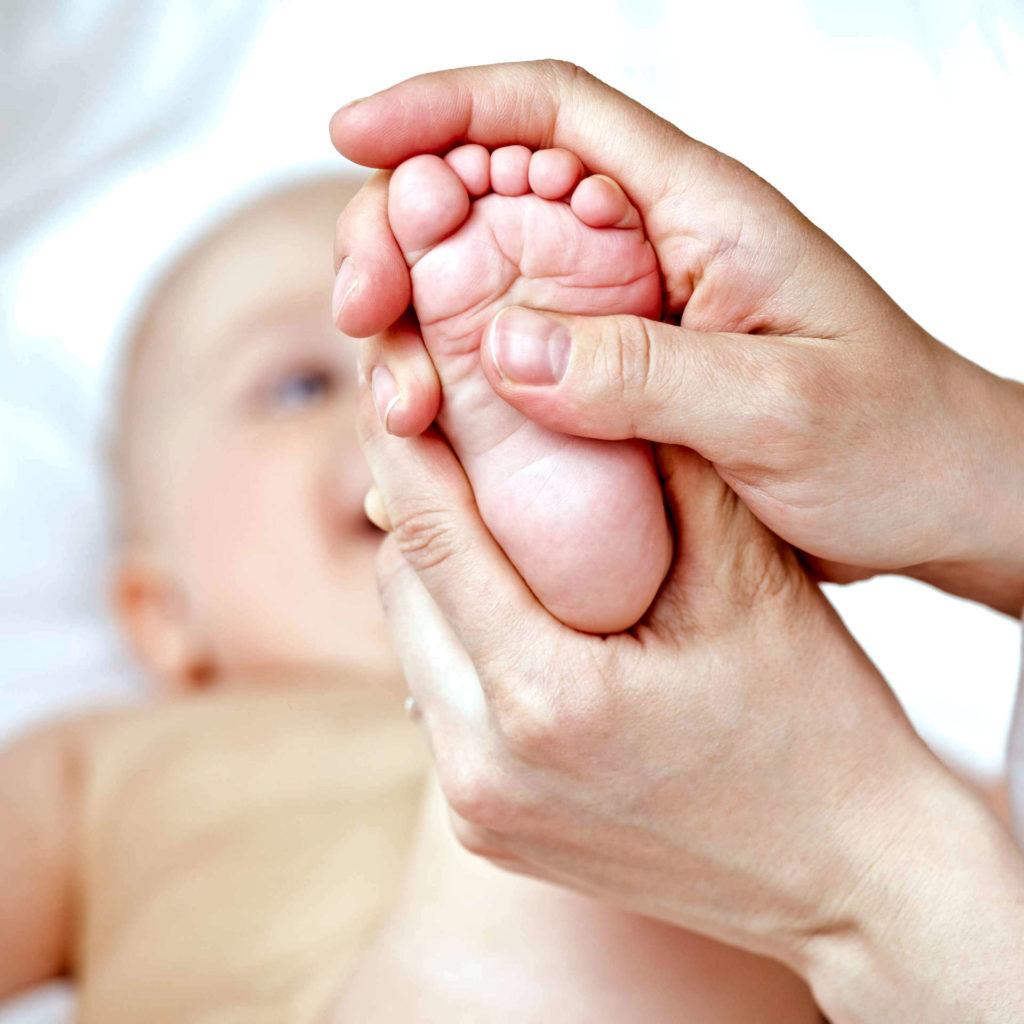 Massage bébés